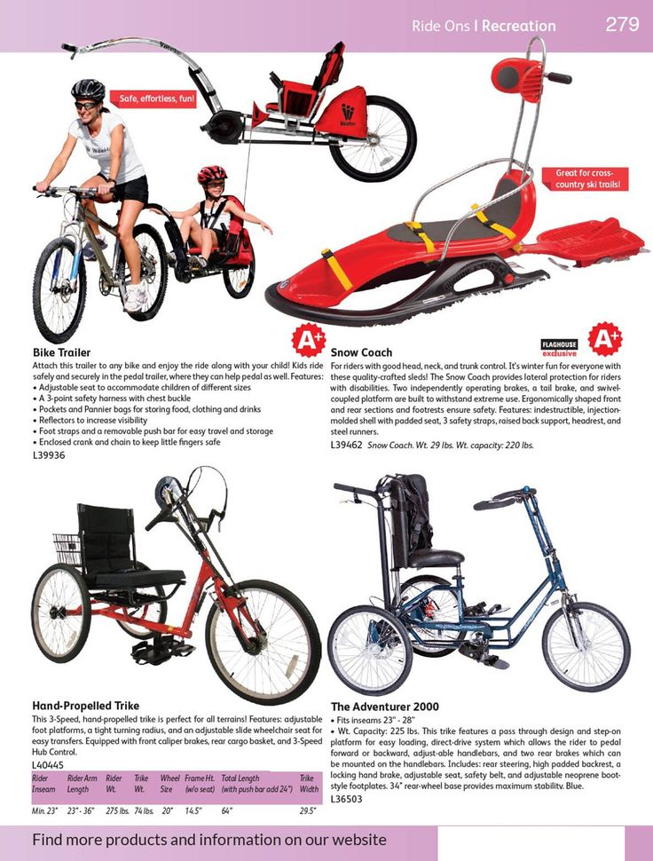 "<b>Bike Trailer</b><p><h3>Description</h3> <p itemprop=""description"">Attach this trailer to any bike and enjoy the ride along with your child! Kids ride safely and securely in the pedal trailer, where they can help pedal as well. Features:<br/>• Adjustable seat to accommodate children of different sizes<br/>• A 3-point safety harness with chest buckle<br/>• Pockets and Pannier bags for storing food, ..."