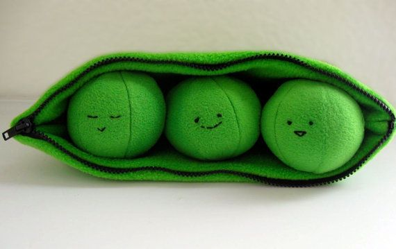 Peas in a Cozy Pod | 20 Adorable Handmade Stuffed Animals You Need To Hug Right Now