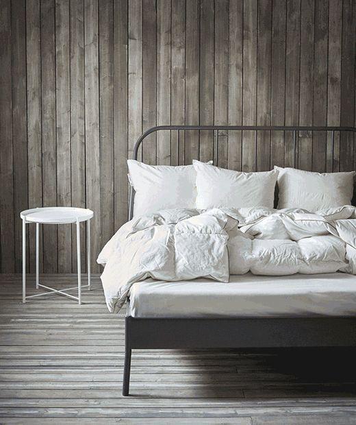 les 84 meilleures images du tableau la chambre ikea sur pinterest chambre ikea blanc et id es. Black Bedroom Furniture Sets. Home Design Ideas