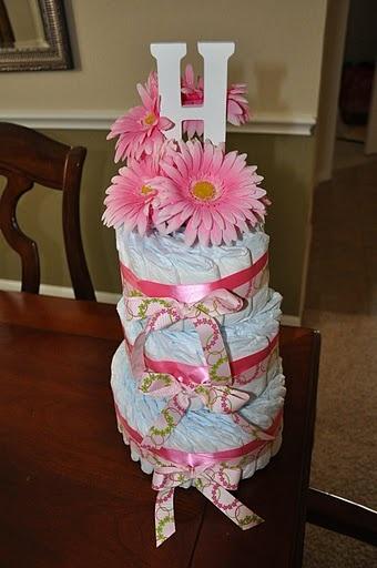 Baby Hope's Diaper Cake