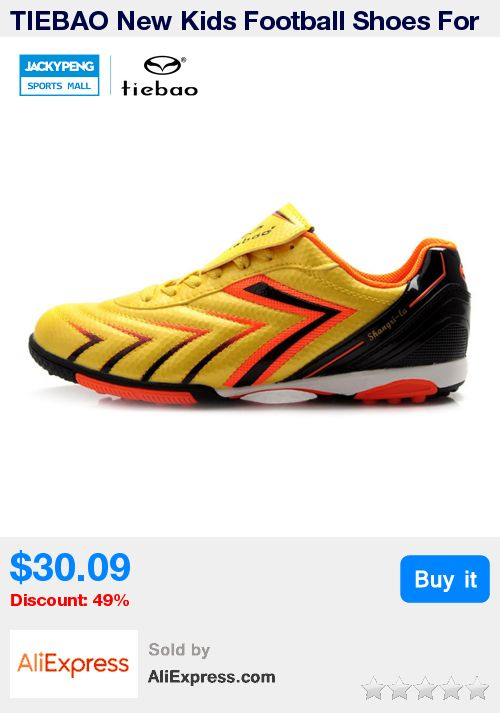 TIEBAO New Kids Football Shoes For Boys Girls Soccer Ball boys TF Soles football shoes kids brand soccer shoes Soccer Shoes * Pub Date: 11:14 Apr 13 2017