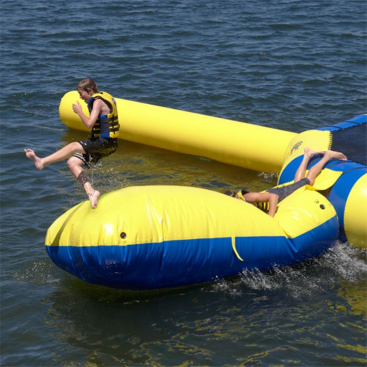 25+ Best Ideas About Water Trampoline On Pinterest