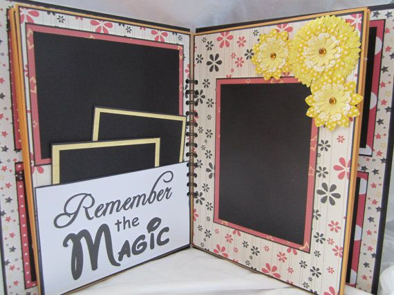 Just love this Disney Mini Album Scrapbook by IslandLillyDesigns