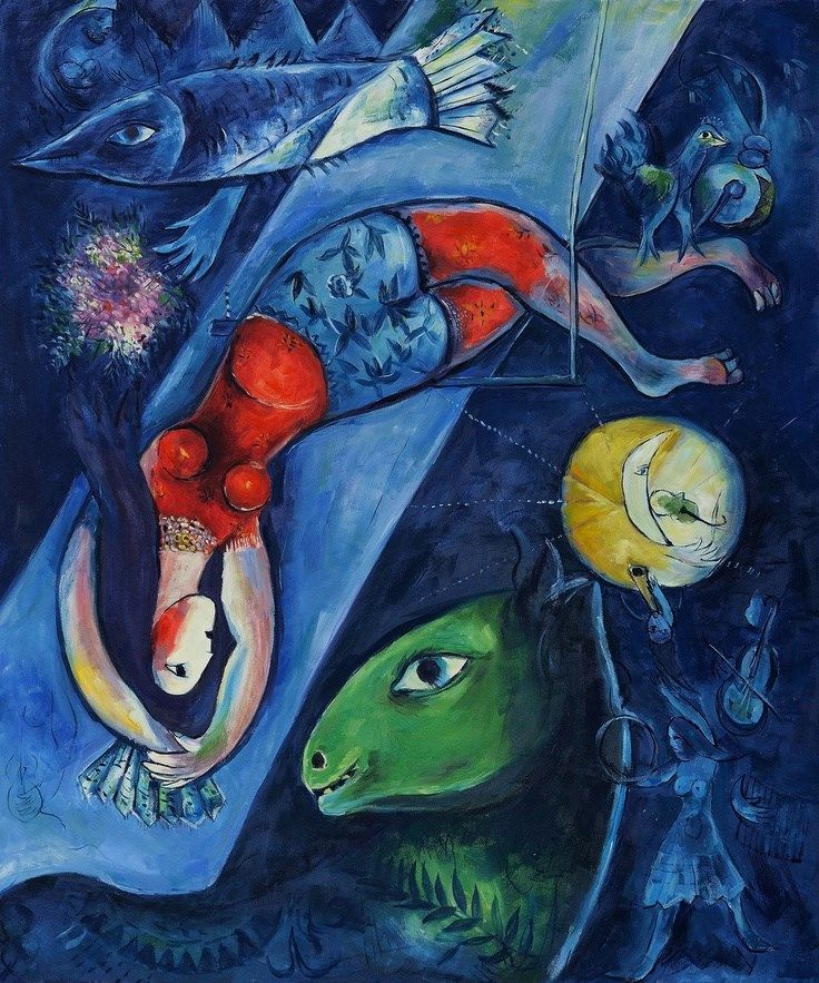 17 best images about marc chagall on pinterest arabian for Biographie de marc chagall
