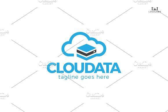 Cloud Data Logo by AL #logodesign #logos #logotype #logoinspiration #branding # …