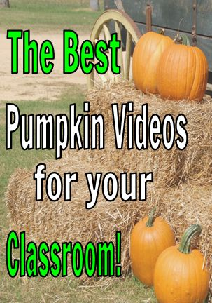 Find the best pumpkin videos for your classroom! There are a variety of videos to choose from and most of them include real photos too!