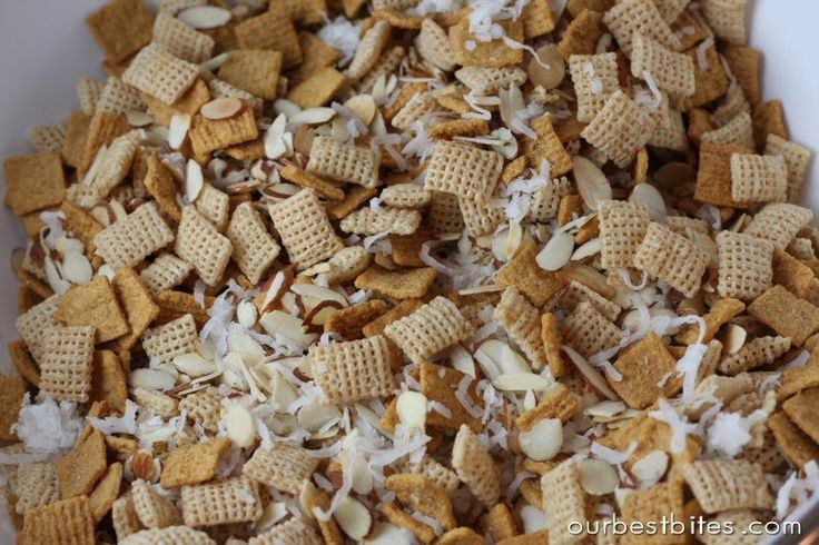 Goblin Grub {Chewy Chex Cereal Mix} - Our Best Bites