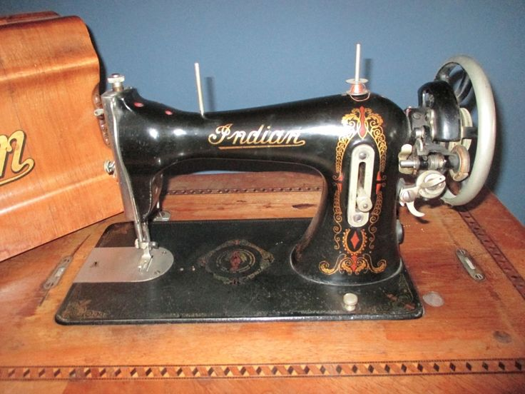 Extremely Rare Original Indian Motorcycle Sewing Machine
