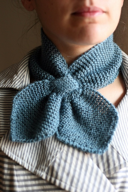Martha Neck Scarf by tentenknits, via Flickr - wish i had my mom's like this- pre 1954.