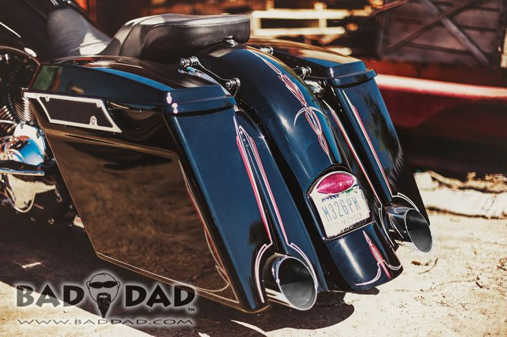 Bad Dad | Custom Bagger Parts for Your Bagger | Baggers :: Bad Dad's Striped Glide
