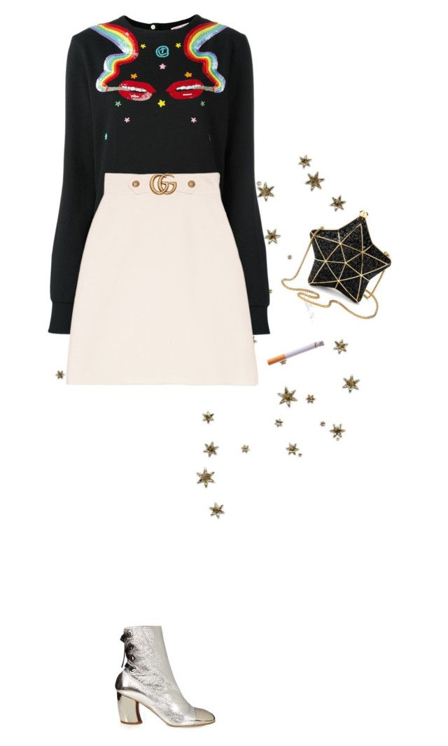 """""""Trippin"""" by chanelletollervey ❤ liked on Polyvore featuring Olympia Le-Tan, Gucci and Aspinal of London"""