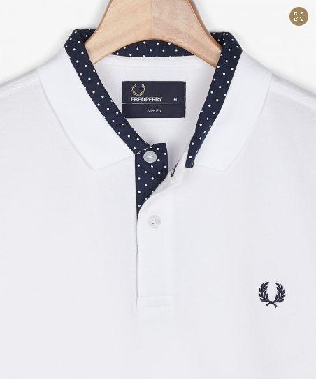 Fred Perry - ss14 - detail dots