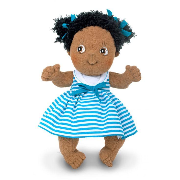 De söta Rubens Cutie dockorna finns i flera olika modeller. Perfekt som doppresent-något barnet kan ha glädje av i många år!