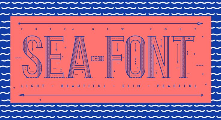 - Sea Free Font - on Behance