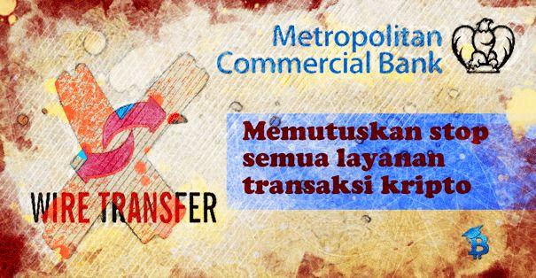 Metropolitan Bank Alami Banyak Masalah Transaksi Kripto