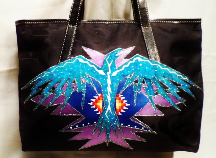 Rez Hoofz Purse (painted). $68.50, via Etsy.