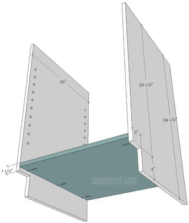 Cabinet Plans How to build a cabinet with pocket hole screws