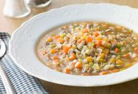 Chicken and Wild Rice Soup - Recipes for Healthy Living by the American Diabetes Association®