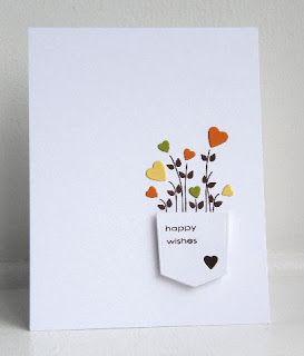 Happy wishes - handmade card - KandRdesigns: ColourQ #126
