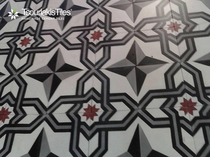 Unique Handmade Cement Tiles www.tsourlakistiles.gr