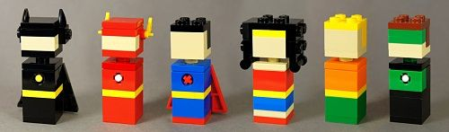 12 of the Most Fantastically Simple LEGO Micro Creations You'll Ever See - UnderScoopFire.com