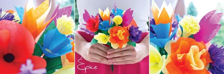 Bukiet Folk / wild flowers bouquet