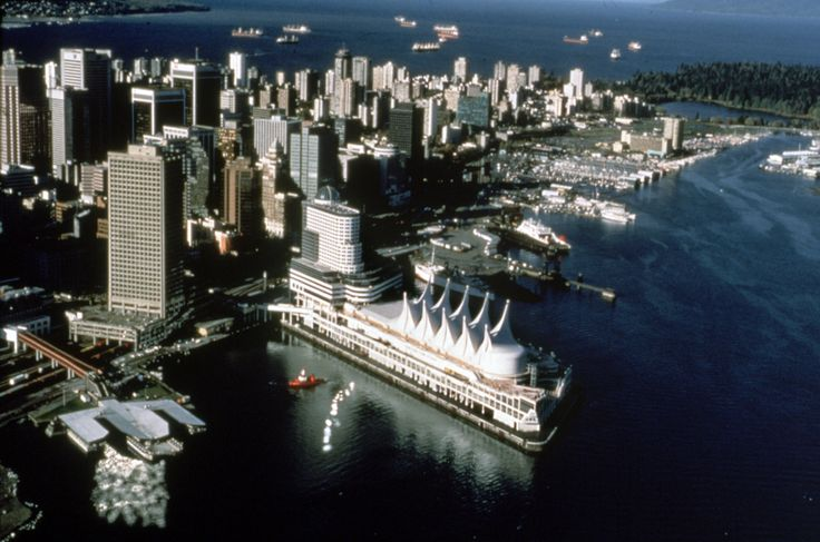 vancouver waterfront aerial