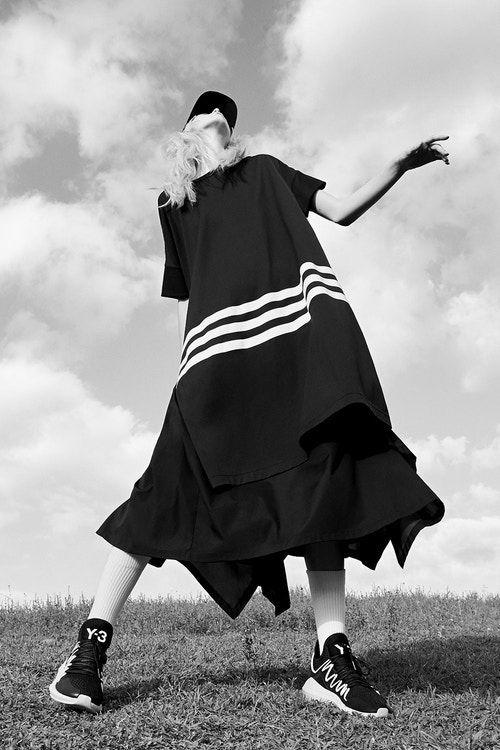 huge discount a630a 731f3 Y-3 adidas Originals Spring Summer 2018 Campaign Yohji Yamamoto Lookbook  Collection Streetwear Uniform