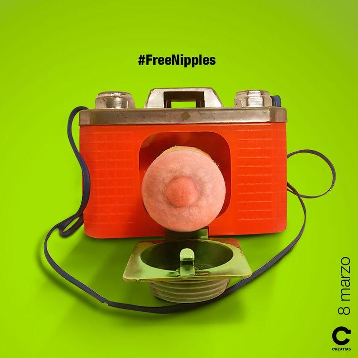 Día Internacional de la Mujer #FreeNipples