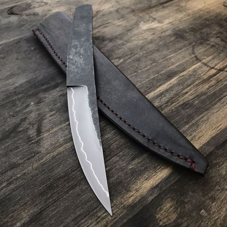 """1,271 Likes, 39 Comments - Marc Weinstock - Knifemaker (@marcweinstock) on Instagram: """"Finished up the sheath for this one.  It will be available for purchase later tonight at…"""""""
