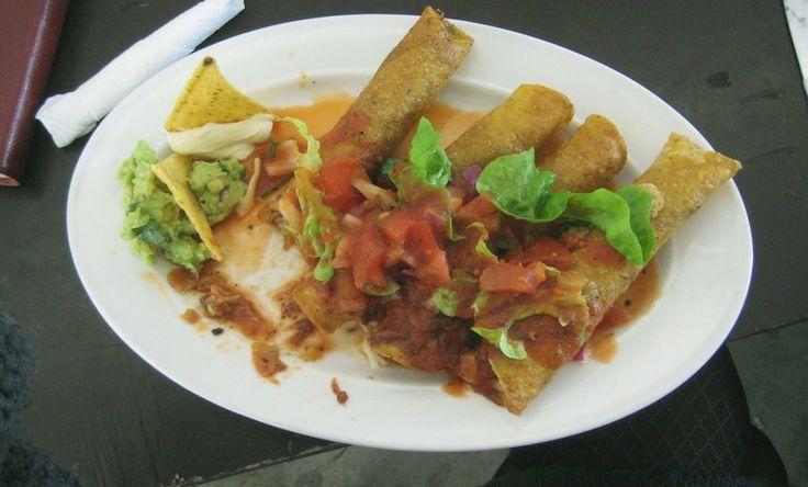 Deep Fried Tacos at Juancho's