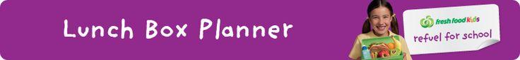 Lunch Box Planner banner