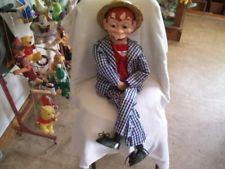 Vintage MORTIMER SNERD Ventriloquist Dummy Doll Puppet (As new)