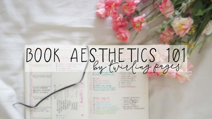 how to create an aesthetic book