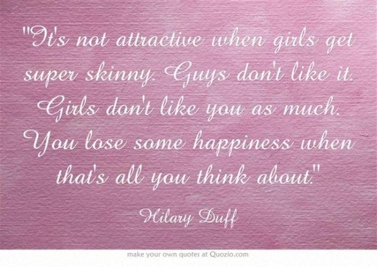 7. ne #laissez pas Image #corporelle vous contrôler - 7 #citations de Hilary Duff qui #enseignent des leçons de vie #grande... → #Celebs
