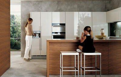Alea Minimalist Kitchen Design by Paolo Piva - Varenna Poliform | Best Kitchen Design