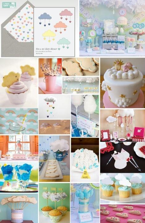 Decoracion para baby shower ni o ni a diy crafts and - Decoracion baby shower nina sencillo ...