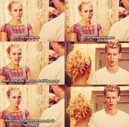 The Carrie Diaries- Carrie and Sebastian- these two are so cute together, but so annoying! They fight and break up too many times to count. In just one episode, they break up and get together again like 5 times Ahaha x