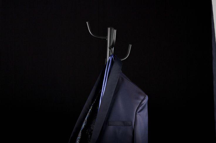 Prueba #3 del cliente Alexander Vargas. Blue Smoking en lana escocesa con Chasmire. 10-03-2017