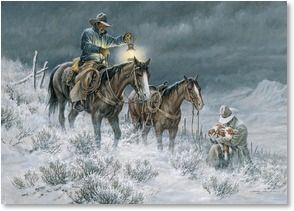 Western Christmas Cards