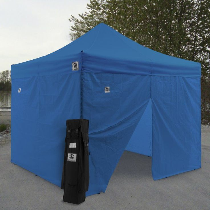 ez pop up canopy tent instant canopy aluminum with wheeled roller bag and sidewalls the and uvcoated impact canopy aol ft
