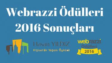 Webrazzi Ödülleri 2016 Sonuçları