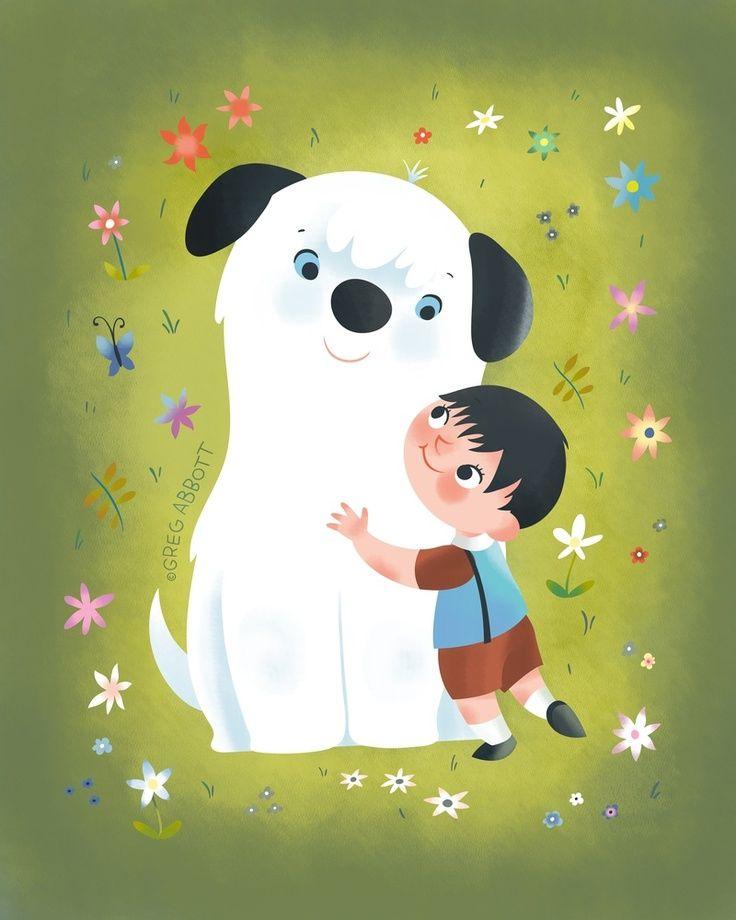Best Friends, an art print by Greg Abbott…