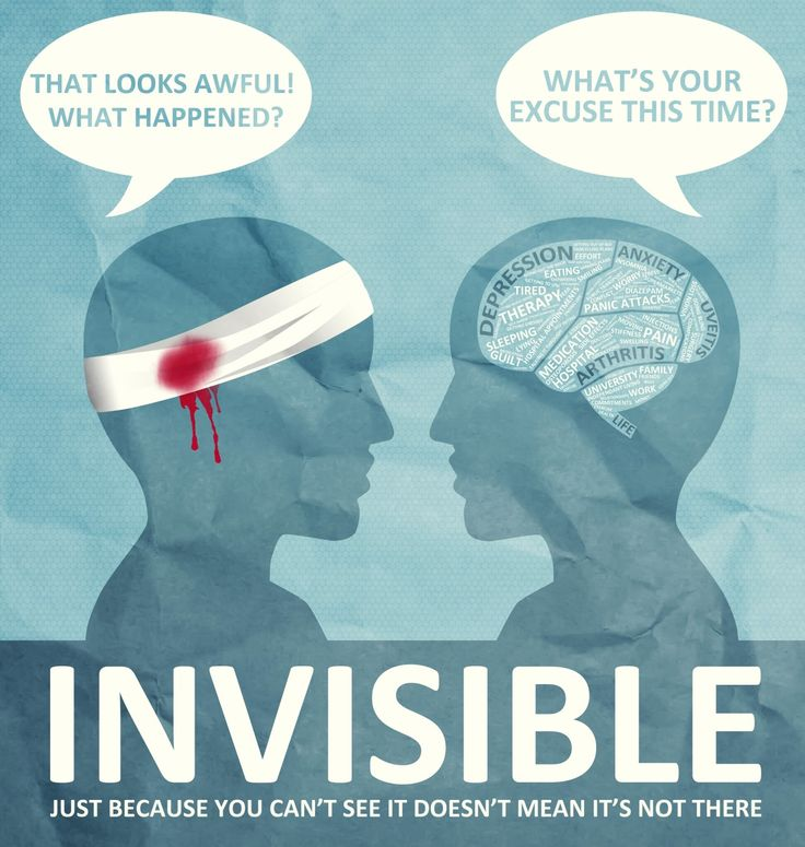 Some brain injuries and diseases are visible. Many are not. All are real.
