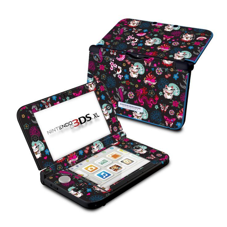 Nintendo 3DS XL Skin - Geisha Kitty by Fluff