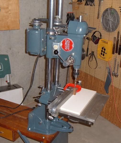 shopsmith milling machine