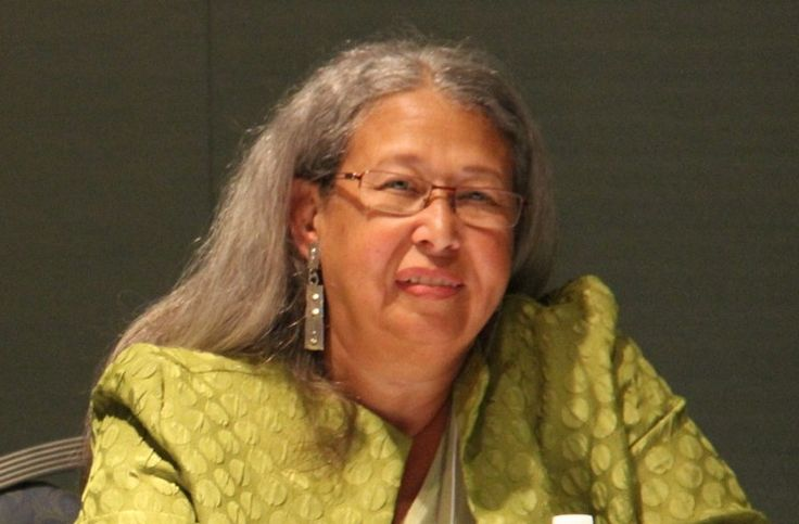Chief Lynette Allston, of the Nottoway Indian Tribe of Virginia. (Vincent Schilling)