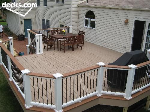 I Like The Colors Of The Deck And Accents Deck Ideas