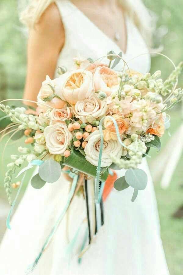Bouquet Sposa Color Pesca.Bouquet Rosa Pesca 6 Matrimoni Color Pesca Matrimonio Pesca E