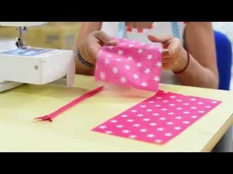 DIY Faire une trousse avec un tube papier essuie tout - YouTube